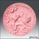 2D Silicone Soap Mold -  Three Birds on Bough