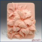 Silicone Soap Mold  Ruffled Hibiscus rosa-sinensis