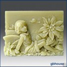 Season fairy - Winter fairy silicone Soap Mold