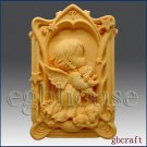 2D Aries Pray Angel of Compassion Silicone  Mold - Boy