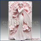 2D Silicone Soap Mold  - Fairy Aine