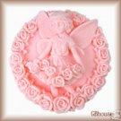 Fairy5~Rosaline fairy of Gratitude Silicone Soap Mold - FREE SHIPPING-QUICK SHIP