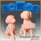 3D Silicone Soap/sugar/fondant/chocolate FDA Mold – 3D Sitting Dog