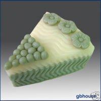 Silicone Soap/Candle Mold -Wedding Cake Slice * Flower
