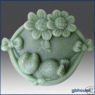Silicone Soap Mold -  Happy Hedgehog