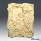 2D Silicone Soap / Plaster Mold – Almond Fairy Lovers