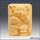 Silicone Soap Mold – Tae Kwon Do Bear