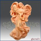 2D Silicone Soap Mold - Mother Angel's Loving Wings *3