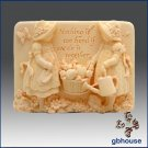 Silicone Mold – Forever Friends Series -Gardening Girls
