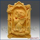 2D Aries Pray Angel of Compassion Silicone  Mold - girl