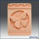 Silicone Soap Mold –   Butterfly Plaque