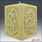 3D Candle Silicone Mold – Dragon