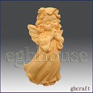 Silicone - Praying Angel – Gavreel  Soap Candle embed Polymer clay push mold