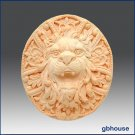 Silicone Soap Mold – Roaring Lion Rosette