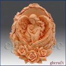 3D Silicone Candle Mold – Mother Angel's Heart Wings