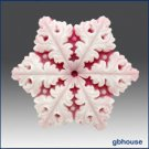 2D Silicone Soap Mold  Snowflake # 7