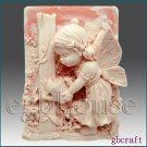 2D Silicone Soap Mold – I is for Imagine
