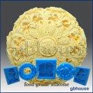 Silicone Chocolate/food grade Mold –Round Rosette