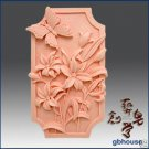 Silicone Soap Mold –   Flowers 'n Butterfly