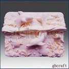 Ocean Life - 2d Silicone Soap/polymer/clay/cold Porcelain Mold