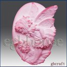 2D silicone Soap/Guest/polymer/clay/cold porcelain/candle mold-Mini Summer Fairy