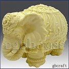 Festive Elephant - 3D Soap/Candle/polymer/clay/cold porcelain silicone mold