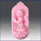 2D silicone Soap/polymer/clay/cold porcelain mold - Choirangel