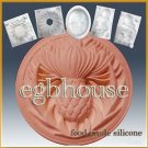 2D silicone  sugar/fondant/chocolate mold - Thistle