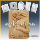 2D silicone sugar/fondant/chocolate mold - Expecting Mother