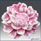 3D Silicone Soap/plaster/clay/Candle Mold-Charming Peony(2 parts assembled mold)