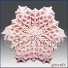 2D Silicone Soap Mold - Snowflake no 10- buy from original designer and maker
