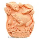 2D silicone Soap/polymer/clay/cold porcelain mold – Garden Frog
