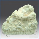 3D silicone Soap/polymer/clay/cold porcelain/candle mold – Baby Boy in Bootie