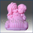 3D silicone Soap/polymer/clay/cold porcelain/candle mold – Just Married