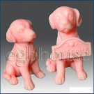 3D silicone Soap/polymer/clay/cold porcelain/candle mold - Sitting Dog