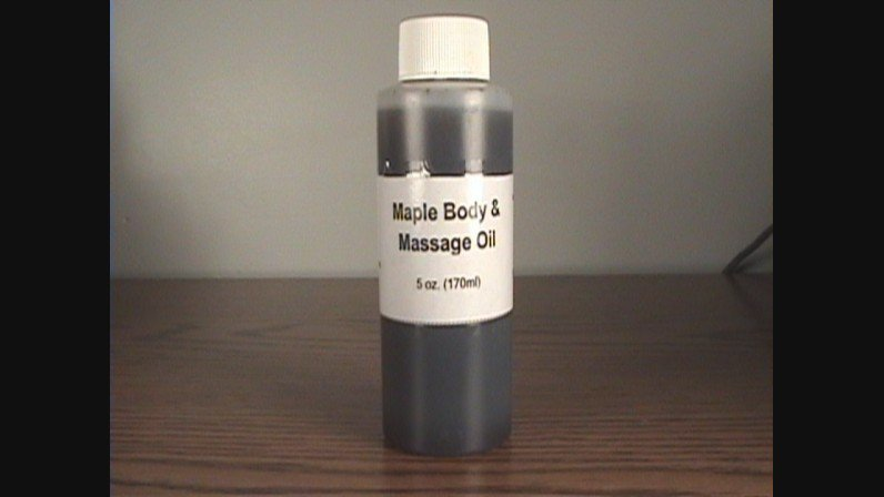 Maple Body And Massage Oil- 5 oz.