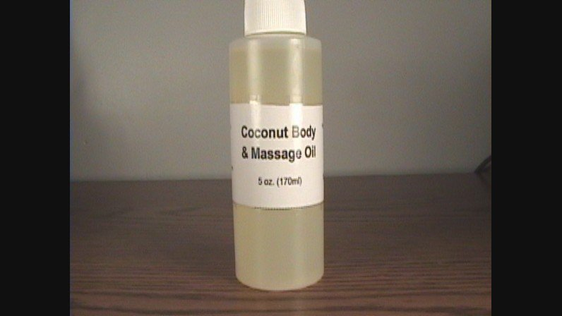 Coconut Body And Massage Oil- 5 oz.