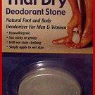 Lady's Thai Dry Deodorant Mens Natural Crystal Stone