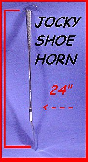 "JOCKEY -  24"" Long handle w/flexible spring shoe horn"
