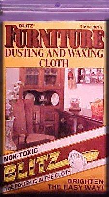 Blitz ~ Furniture dusting & Waxing CLOTH ~ FREE SHIP