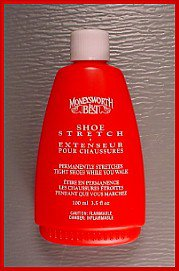 2 Ladys Great for lady's Shoe STRETCHER Moneyworth Best 3.5 oz. stretch Liquid