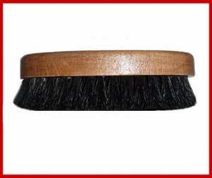 BLK 100% Horse Hair Pro Western HAT Lint Remover Brush