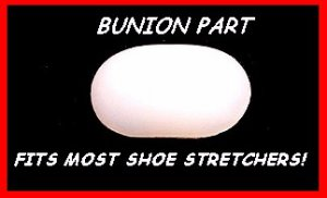 (4)  Plastic BUNION PARTS fits most brands of WOOD or plastic SHOE STRETCHER