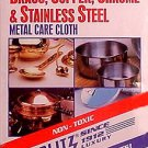 Blitz industrial cleaning cloth Works on Military BRASS
