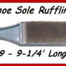Men's Wire Sole Ruffing Brush for Ballroom Latin Dance