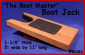 THE BOOT MASTER Jack Western Cowboy BOOT PULLER!