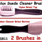 DELUX Suede LEATHER CLEANER BRUSH Works Great!