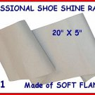 2 Professional Shoe Shine Rags for your Shine Kit BOX!