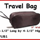 BLACK - Travel bag or shaving kit or makeup kit.