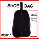 BLACK - Shoe travel Bag or Case ~ Dance or Golf Shoes